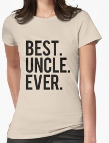 Best Uncle Womens Fitted T-Shirt