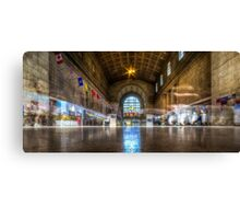 Ghosts of Union Station Canvas Print