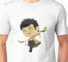 Castiel, Angel of the Lord, and his GAY PRIDE ties Unisex T-Shirt