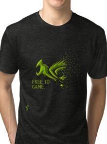 Free Gamer Tri-blend T-Shirt