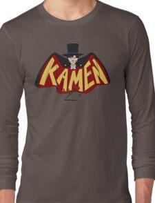 Retro Tuxedo Kamen Logo Long Sleeve T-Shirt