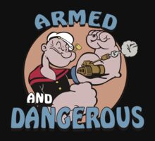 Popeye Armed And Dangerous T-Shirt