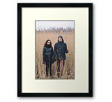 Dace + Edgars Framed Print