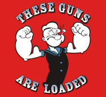 Popeye These Guns Are Loaded Kids Clothes