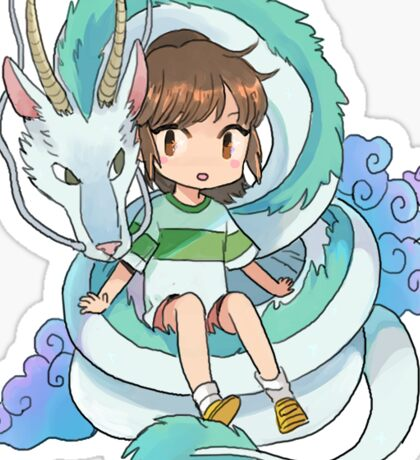 SPIRITED AWAY STICKER Sticker