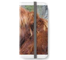 Wee Hieland coo beastie iPhone Wallet/Case/Skin