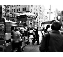 Zombies don't care for Street Pretzels Photographic Print