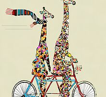 giraffes days lets tandem by bri-b