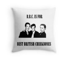 BEST BRITISH CHEEKBONES 1.2 Throw Pillow