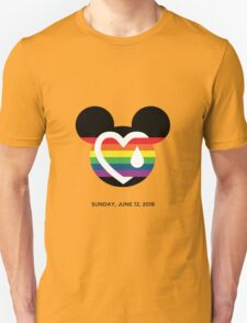 Support for the victims of the horrific shooting at Orlando's Pulse Nightclub.  T-Shirt