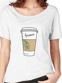LATTE GRANDE : ARIANA Women's Relaxed Fit T-Shirt