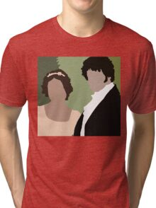Lizzy and Darcy Tri-blend T-Shirt