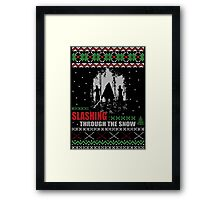 The Walking Dead - Michonne Ugly Christmas Sweater! Framed Print