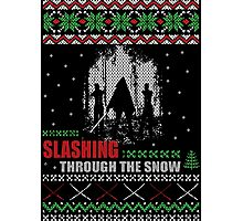 The Walking Dead - Michonne Ugly Christmas Sweater! Photographic Print