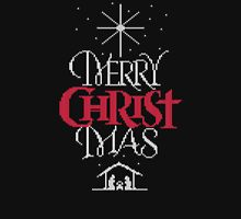 Granny knit me an ugly Christmas sweater - Religious Christian - Merry Christ Mas Long Sleeve T-Shirt