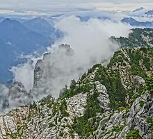 Mt Pilchuck, Cascade Mountains by dakinecascadia