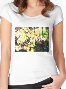 Yellow Tops Women's Fitted Scoop T-Shirt