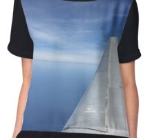 Flying over water Chiffon Top