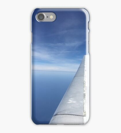 Flying over water iPhone Case/Skin