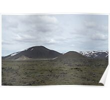 Giant´s Mountains of Iceland Poster