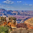 The Majestic South Rim Of The Grand Canyon by K D Graves Photography