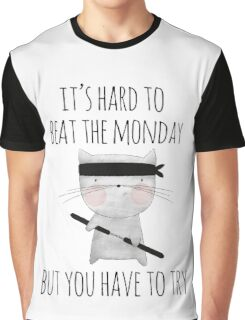 beat the monday /Agat/ Graphic T-Shirt
