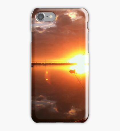 Sunrise on River Road iPhone Case/Skin