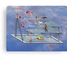 Impossible Circus Canvas Print