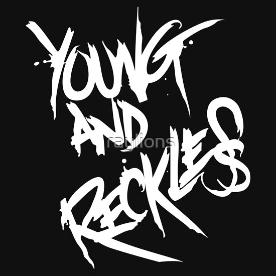 Young And Reckless Black And Red Hoodie - Clothes : Best Fashion