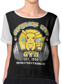 Vermilion City Gym Chiffon Top