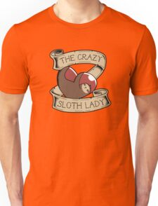 The Crazy Sloth Lady Unisex T-Shirt