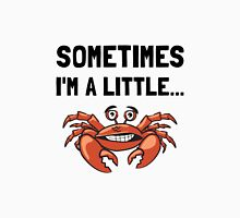Sometimes A Crab Women's Fitted Scoop T-Shirt
