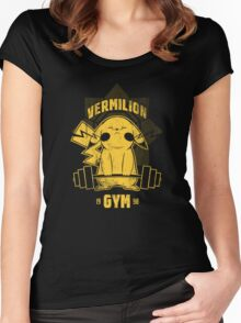 Vermillion Gym Women's Fitted Scoop T-Shirt