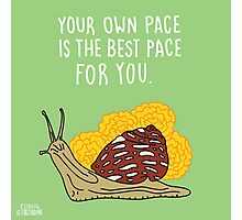 Your Own Pace Photographic Print