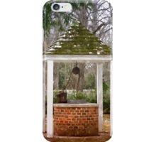 Village Well iPhone Case/Skin