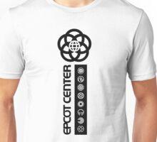 SymbolsBlockOutlineDown Unisex T-Shirt