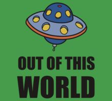 UFO Out Of This World Baby Tee