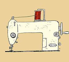 Sewing machine by taichi