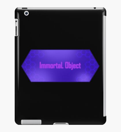 Immortal Object iPad Case/Skin