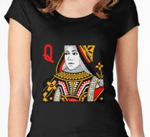 Card Games II Women's Fitted Scoop T-Shirt