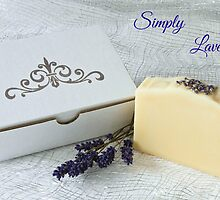 Simply Lavender Soap by Kathy Reid