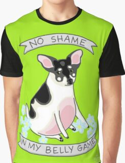 No Shame in My Belly Game Graphic T-Shirt