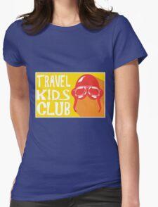 Travel Kids Club Merch Womens Fitted T-Shirt