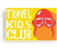 Travel Kids Club Merch Canvas Print