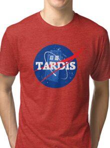 TARDIS - Doctor Who Tri-blend T-Shirt