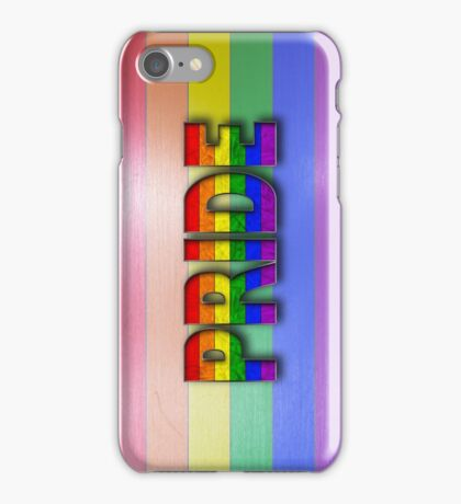 Rainbow PRIDE - Rainbow iPhone Case/Skin