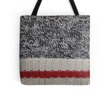 Lumberjack Knit Tote Bag