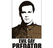 Evil gay predator by Nadya Klymenko