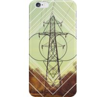 Abstract Pylon iPhone Case/Skin