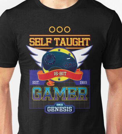 Self Taught Gamer of the 16-Bit Era Unisex T-Shirt